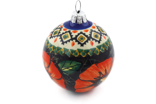 "3"" Ornament Christmas Ball - P4796A 
