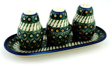 "10"" Salt and Pepper with Toothpick Holder - 23AX 