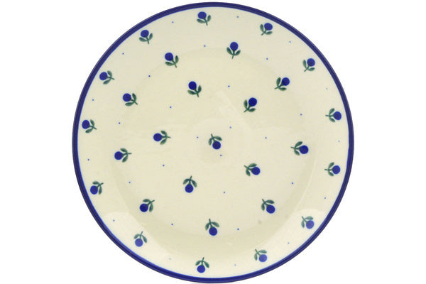 "10"" Luncheon Plate - Blue Buds 