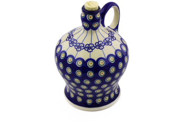 5 cup Bottle - D106 | Polish Pottery House