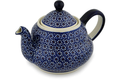 7 cup Tea Pot - 120 | Polish Pottery House