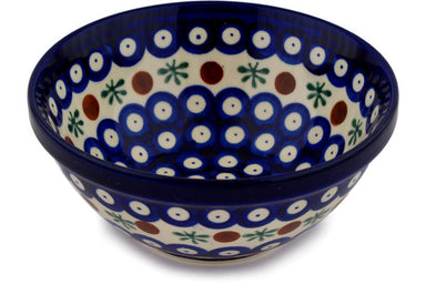 18 oz Cereal Bowl - Blue Old Poland | Polish Pottery House