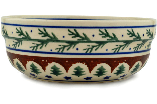 21 oz Cereal Bowl - Evergreen | Polish Pottery House