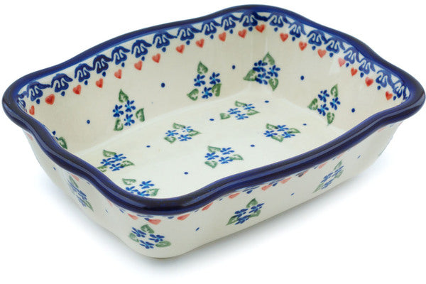 "6"" x 8"" Rectangular Baker - D33 
