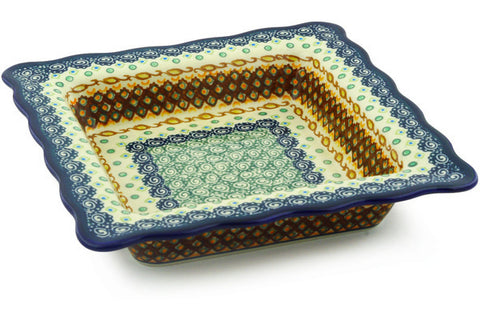 "9"" Square Bowl - Nantucket 