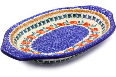 "12"" Platter with Handles - P9291A 
