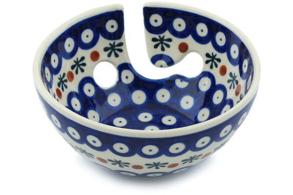 "6"" Yarn Bowl - Old Poland 