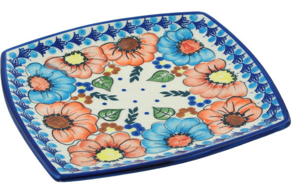 "7"" Square Salad Plate - D114 