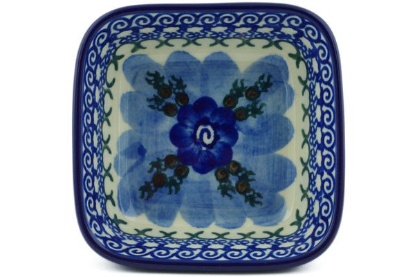 6 oz Condiment Bowl - U595 | Polish Pottery House