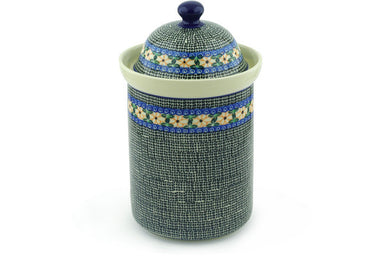 8 cup Canister - 1212 | Polish Pottery House