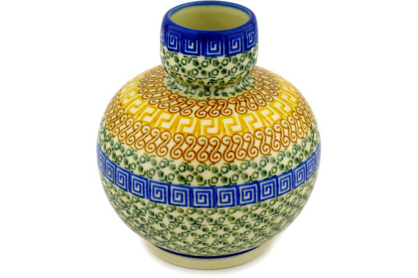 "6"" Vase - Blue Autumn 