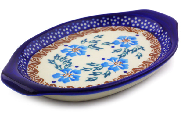 "7"" Platter with Handles - P9290A 