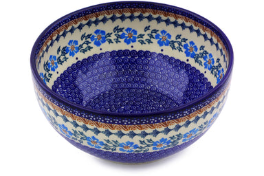 12 cup Serving Bowl - P9290A | Polish Pottery House