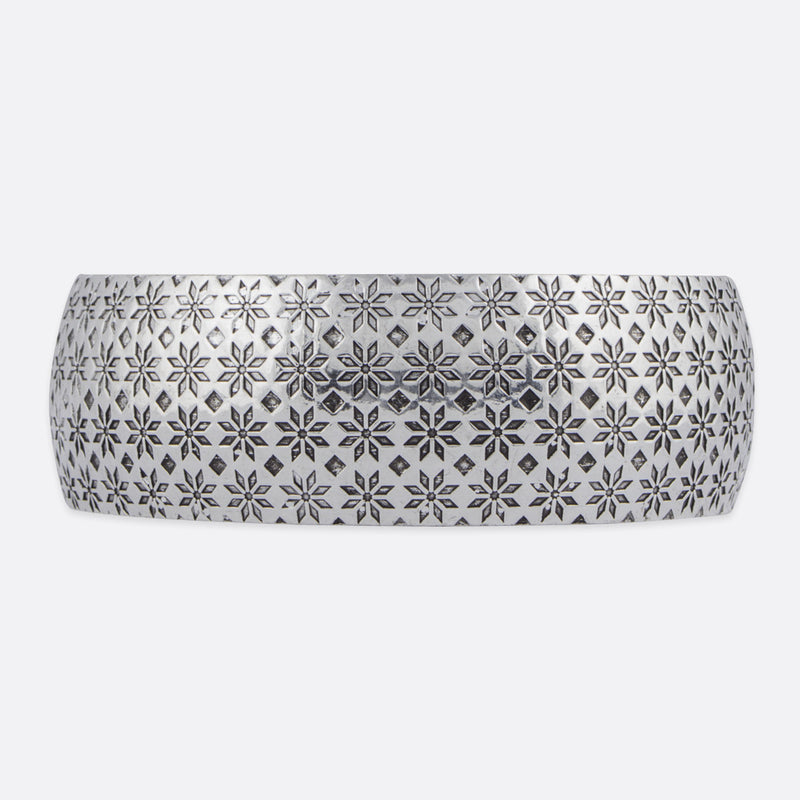 Zara Moroccan Print Bangle