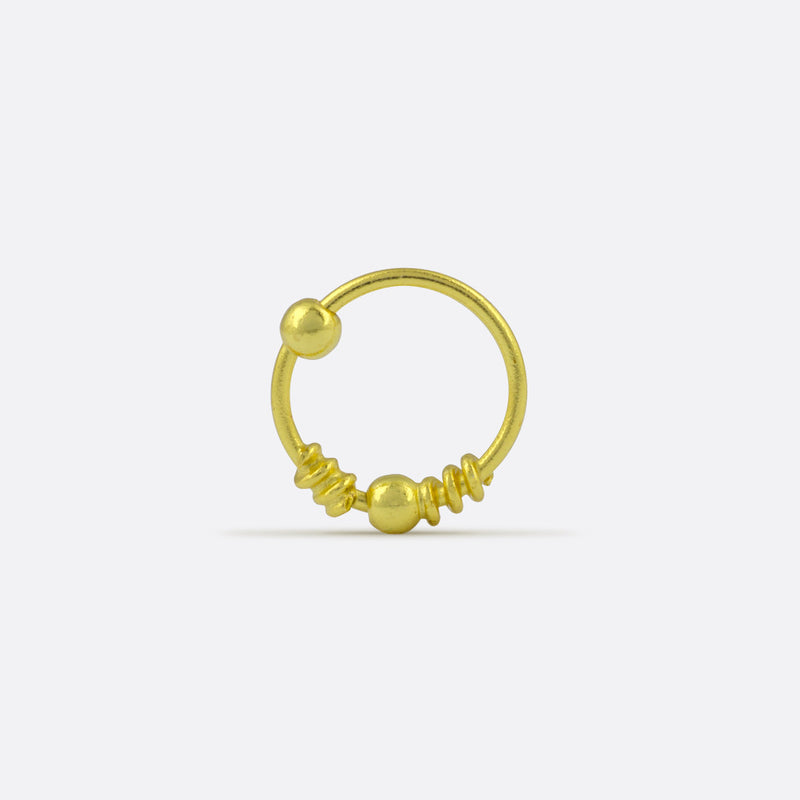 Ada Nose Ring- Gold