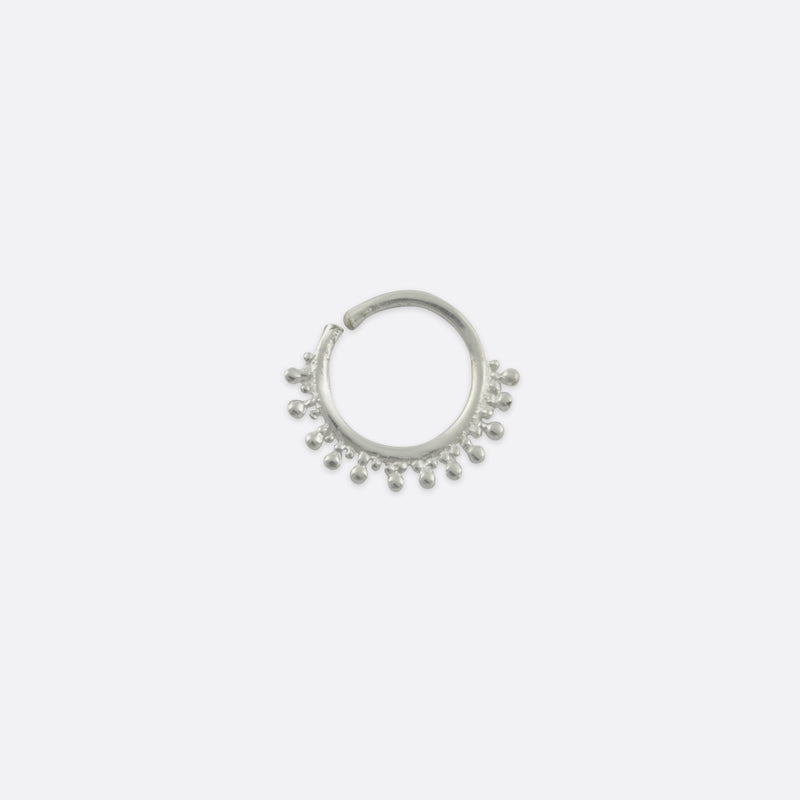Aurelia Nose Ring- Sterling Silver