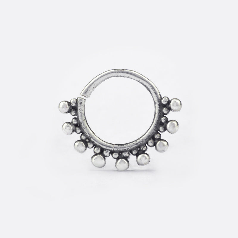 Bodhi Septum Ring- Sterling Silver
