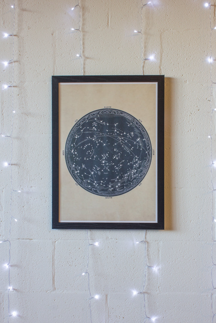 Constellations Print- A2