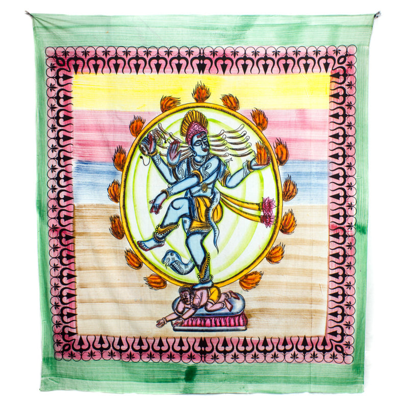 Dancing Shiva Throw