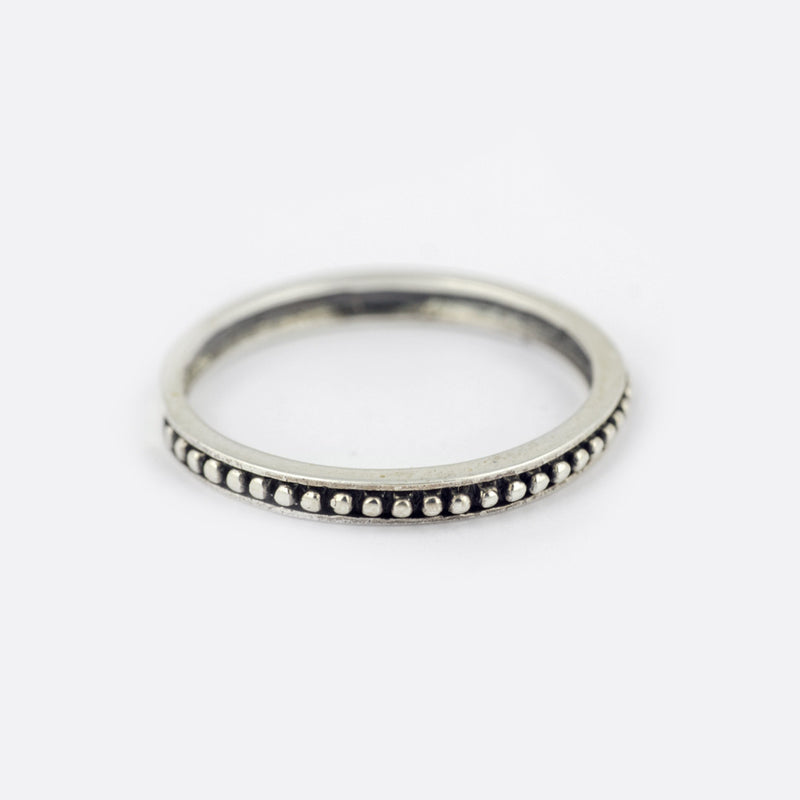Indica Ring- Sterling Silver