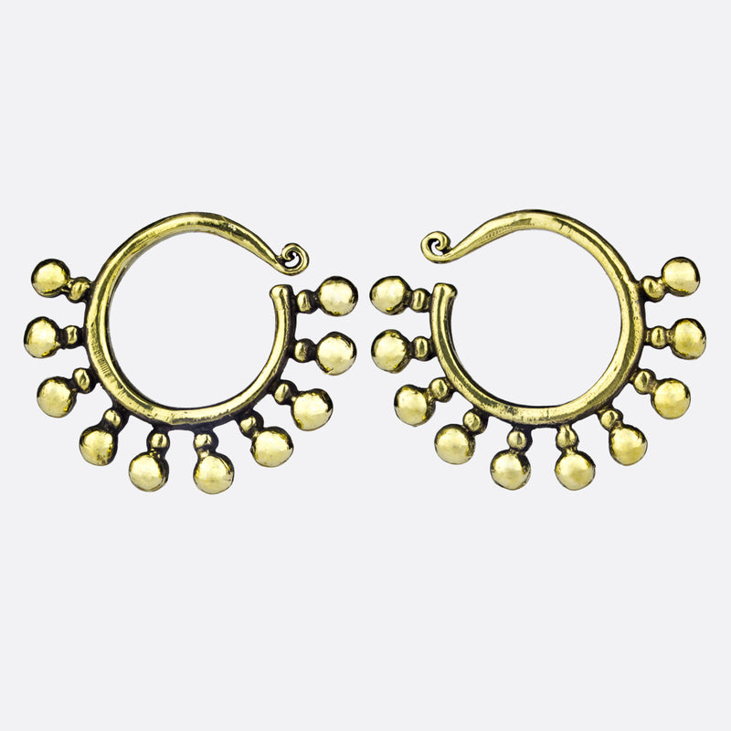 Nova Hanger Earrings- Gold