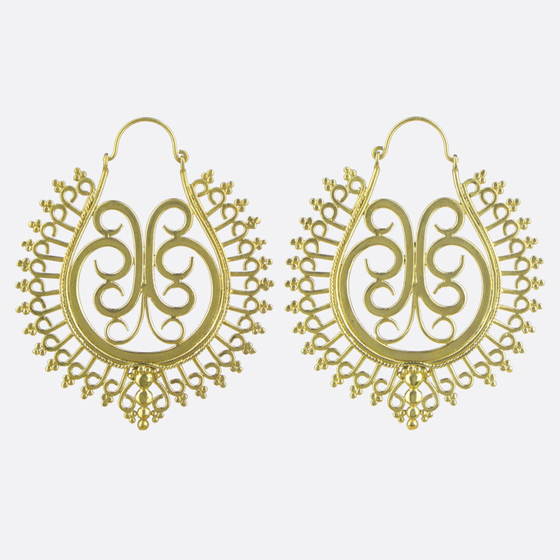 Ophelia Earrings- Gold
