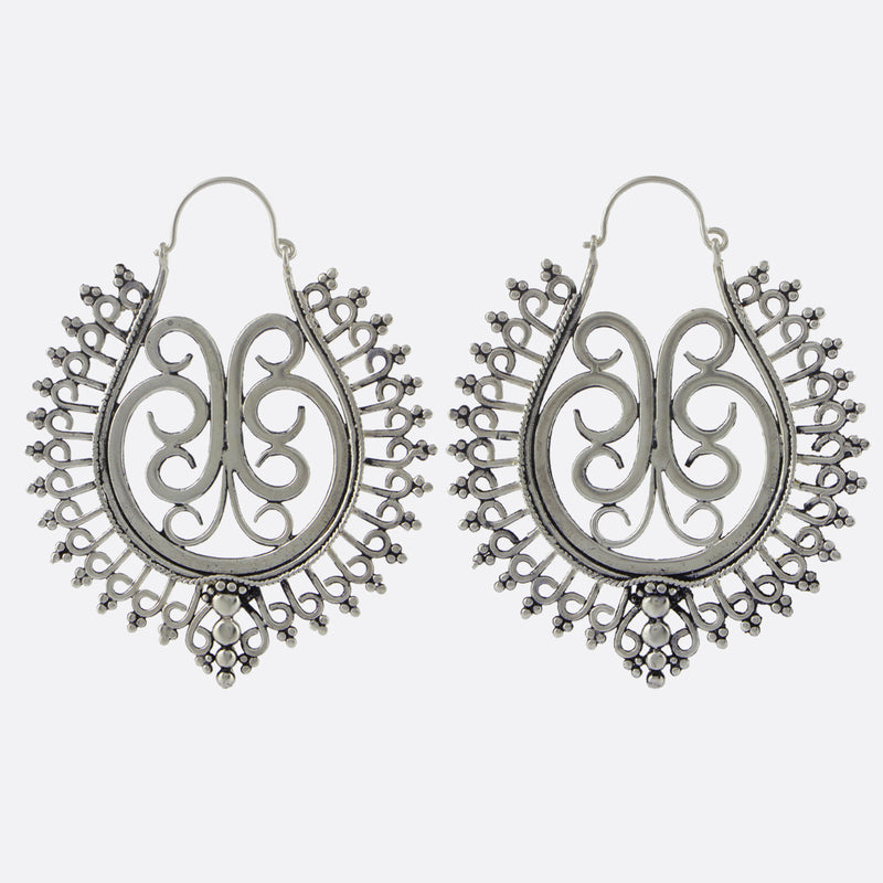 Ophelia Earrings- Silver