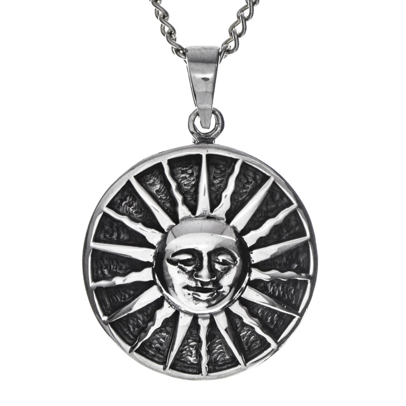 Sun Necklace- Sterling Silver 925