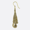 Unalome Earrings- Gold