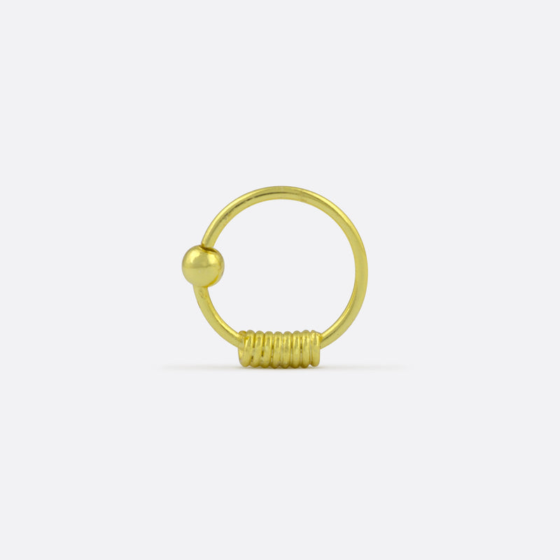 Zarah Nose Ring- Gold