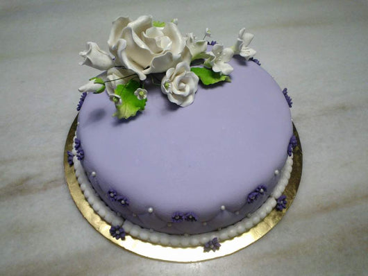 Purple Chocolate Cake