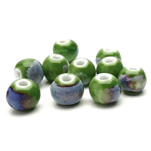 Ceramic Beads  - 10mm colour 03