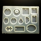 Silicon mold (12 design - Clear finish)
