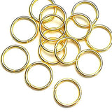 Jump rings (Gold plated) - 12mm