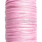 Korean Waxed Cotton Cord - 1mm Light pink