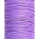 Korean Waxed Cotton Cord - 1mm Light purple