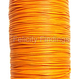 Korean Waxed Cotton Cord - 1mm Orange