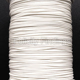 Korean Waxed Cotton Cord - 1mm White