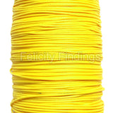 Korean Waxed Cotton Cord - 1mm Yellow
