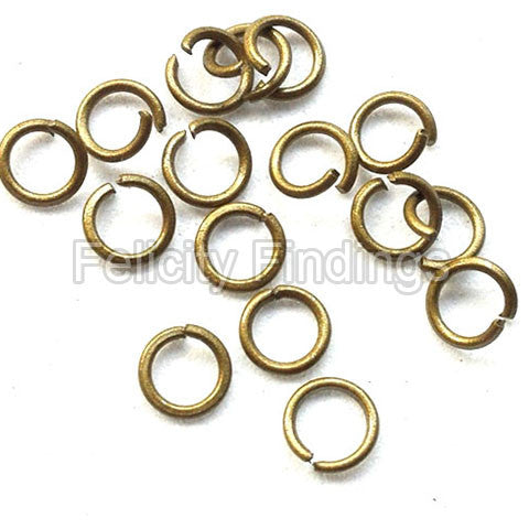 Jump rings (Bronze) - 5mm