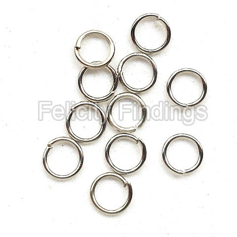 Jump rings (Platina plated) - 5mm