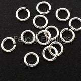 Jump rings (Silver plated) - 5mm