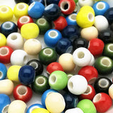 Ceramic Beads  - 6mm mix colour