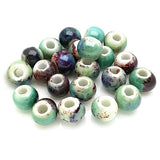 Ceramic Beads  - 8mm colour 02