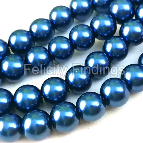 Glass pearl - 8mm