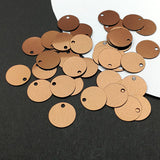 Round Sequin Paillettes (Bronze)
