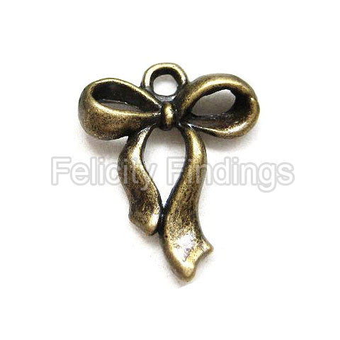 Charms (Bronze) - CH425 Ribbon