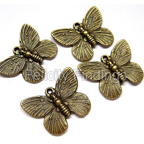 Charms (Bronze) - CH439 Butterfly