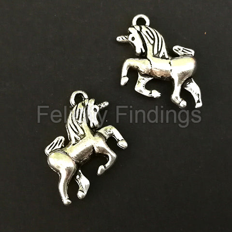 Charms (Antique Silver) - CH445S Unicorn