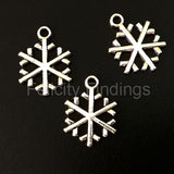 Charms (Antique Silver) - CH463S Snowflake